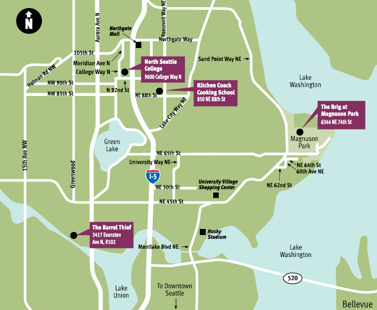 Class Locations and Parking | Continuing Education at North Seattle ...